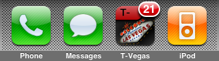 T-Vegas for iPhone and iPod Touch